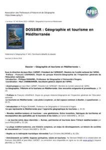thumbnail of DOSSIER-Geographie-et-tourisme-en-Mediterranee