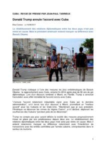 thumbnail of CUBA REVUE DE PRESSE 1