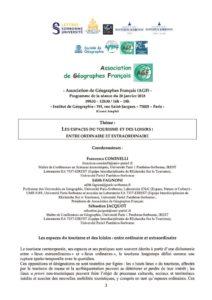 thumbnail of Programme AGF 20 janvier 2018 Tourisme et Loisir