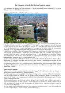 thumbnail of En Espagne ras le bol des touristes_Le Monde_aout 2017