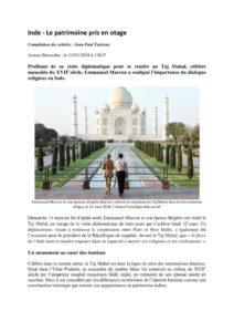 thumbnail of Inde – Le patrimoine pris en otage (2)
