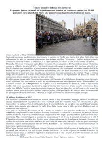 thumbnail of Venise canalise la foule du carnaval